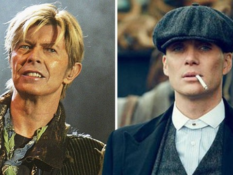 Cillian Murphy gave Peaky Blinders superfan David Bowie his cap