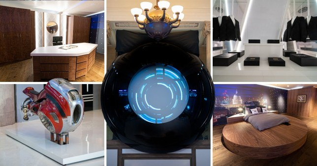 How to spend the night at the Men in Black HQ in London