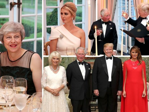 Donald and Melania Trump host intimate 'thank you' dinner