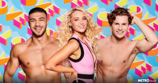 Love Island's Tommy Fury, Lucie Donlan and Joe Garratt