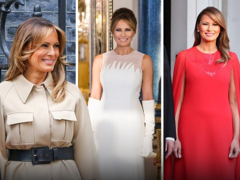 Every fashion piece Melania Trump has worn since she arrived in the UK