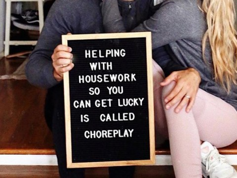 Husband's 'choreplay' idea slammed for using housework to 'get lucky'