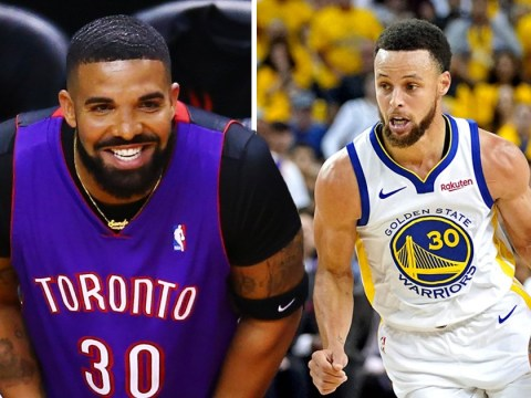 Drake music banned from California radio station after awkward courtside antics at NBA Finals