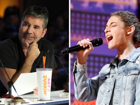 Has Simon Cowell discovered the next Harry Styles on America's Got Talent?