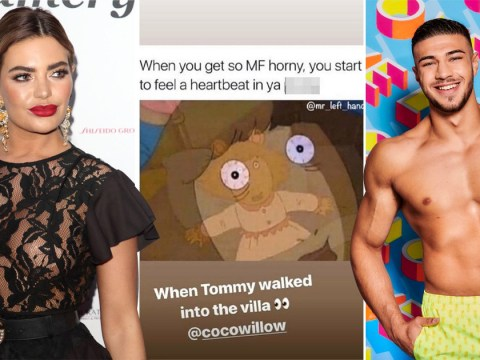 Love Island's Megan Barton-Hanson shares NSFW Instagram post thirsting over Tommy Fury