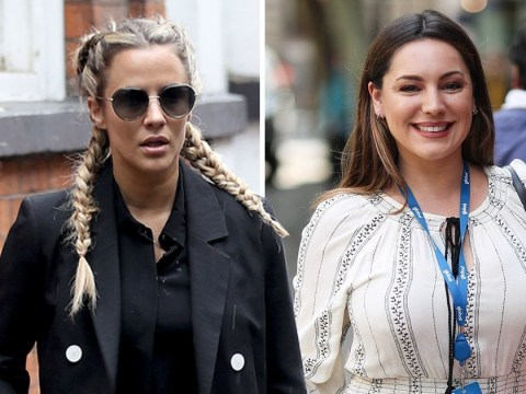 Caroline Flack switches Love Island sun for London rain amid Kelly Brook feud