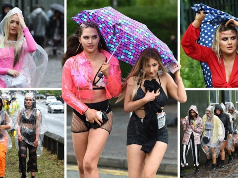 Thousands defy miserable weather to party in ponchos at Parklife festival