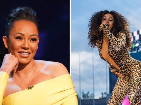 Mel B might be getting her own TV talk show when Spice Girls tour ends