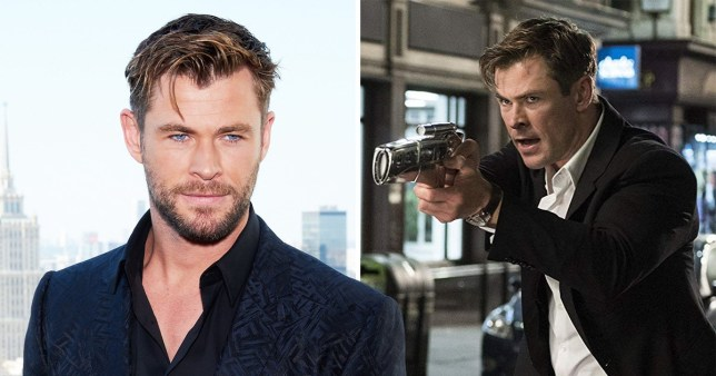 Chris Hemsworth in Men In Black: International