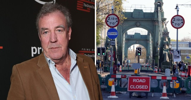 Jeremy Clarkson slammed by police for complaining about severe road closure after fatal car crash