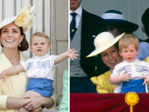 Did Prince Louis wear Prince Harry's old shirt for Trooping the Colour?