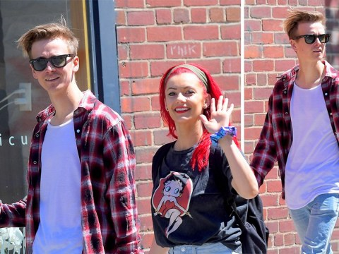 Strictly's Joe Sugg and Dianne Buswell prove they're still going strong during romantic stroll in New York City