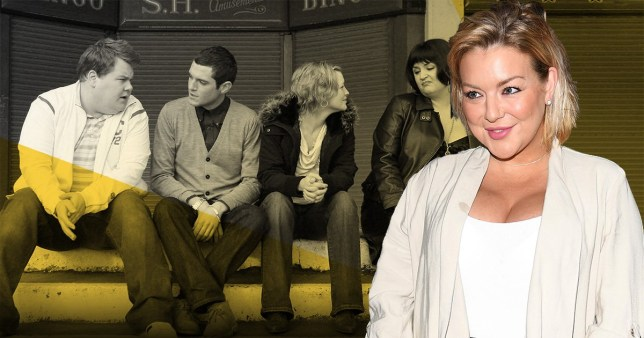 Sheridan Smith and the Gavin and Stacey cast