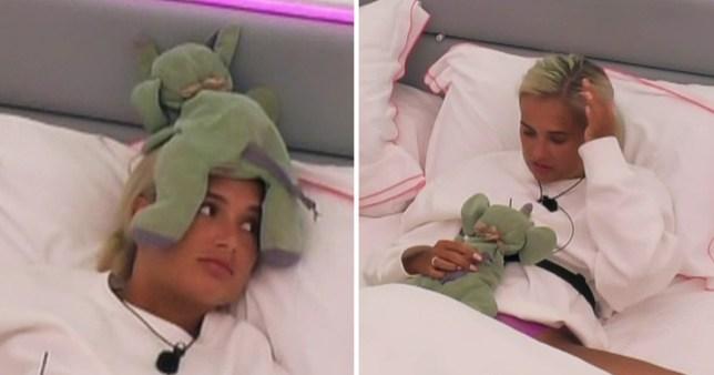 Molly-Mae brings teddy into Love Island villa