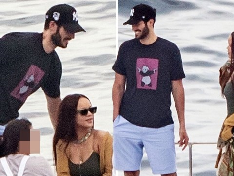 Rihanna looks totally loved up on romantic boat trip with Saudi billionaire boyfriend Hassan Jameel