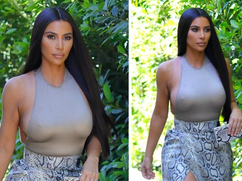 Kim Kardashian definitely dresses better than you just to pop to the shops