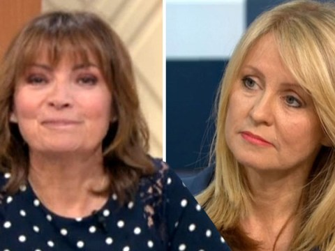 Lorraine Kelly 'breaks character' to snub Tory PM candidate Esther McVey