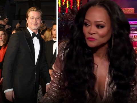 Robin Givens reveals the true story about Mike Tyson catching her 'in bed with Brad Pitt'
