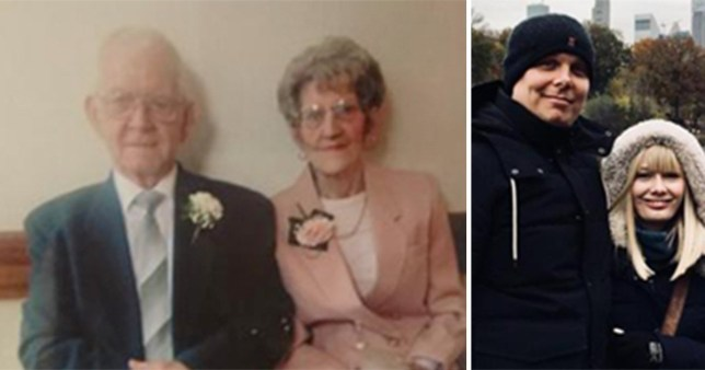 Mr and Mrs Heirene were hit by conmen posing as waterboard workers who claimed there were supply issues in the area (Picture: Wales News Service)