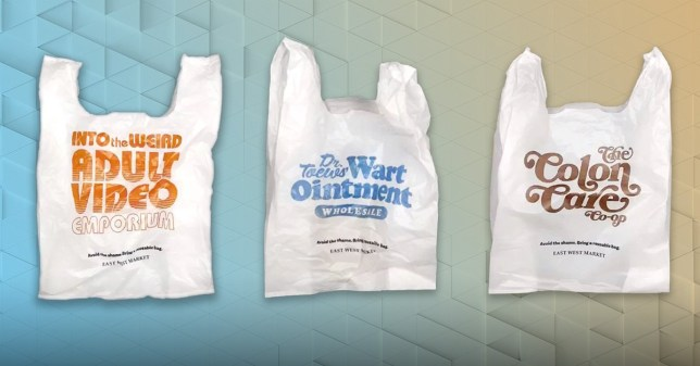 embarrassing plastic bags