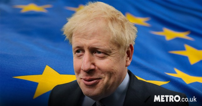Boris Johnson, the favourite to succeed Theresa May, says he would withhold the £39 billion Brexit divorce bill if no EU exit deal could be agreed (Picture: Getty, AFP)