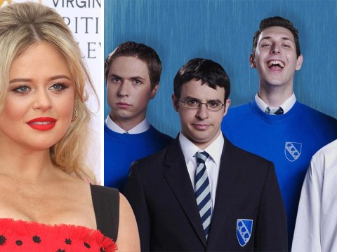 Emily Atack reveals Inbetweeners star got too excited during sex scene