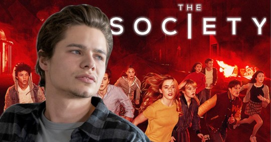Campbell in Netflix's The Society