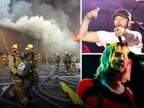 Music by Nirvana, Eminem and Janet Jackson 'lost in 2008 fire'