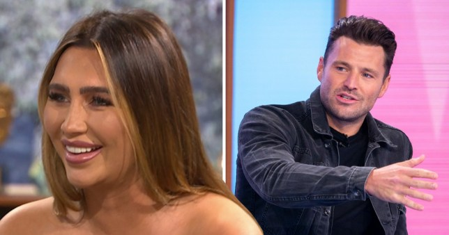 Mark Wright and Lauren Goodger on This Morning and Loose Women