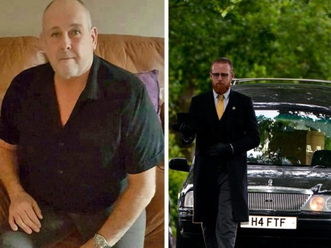 Steven Dymond laid to rest with one-minute service after suicide axes Jeremy Kyle Show