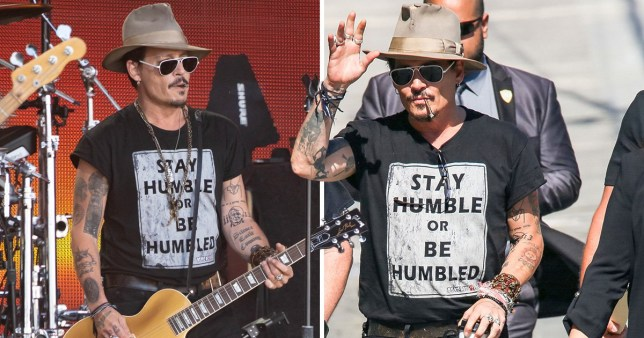Johnny Depp sends cryptic message about being 'humble' amid Amber Heard drama