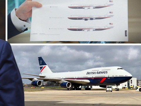 Donald Trump's new-look Air Force One looks just like 1980s British Airways jet