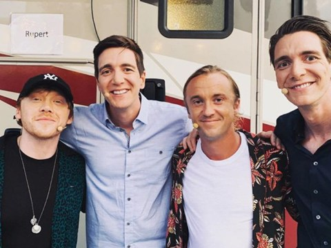 Harry Potter's Tom Felton and Rupert Grint prove Weasleys and Malfoys get along as they reveal reboot hopes