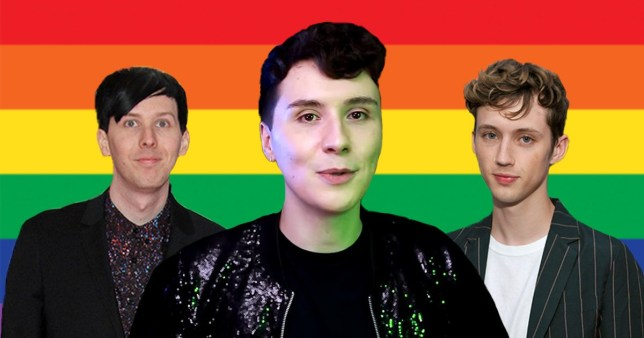 YouTuber Dan Howell comes out and friends Phil Lester and Troye Sivan share the love