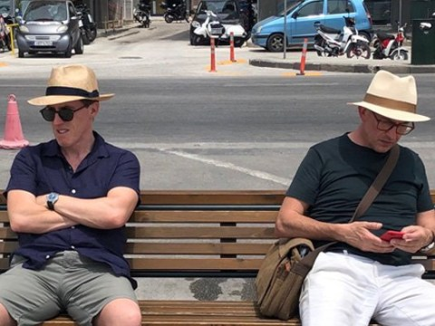 Rob Brydon and Steve Coogan are back to their old ways as filming begins on The Trip To Greece