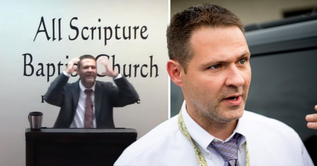Grayson Fritts, a police detective, was filmed giving a sermon claiming gay people should be executed in Tennessee