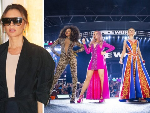 Victoria Beckham is back in London and fans are convinced she's headed for a Spice Girls reunion