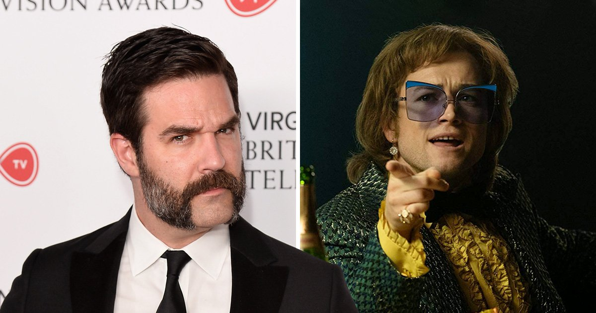 Rob Delaney was cut from Rocketman