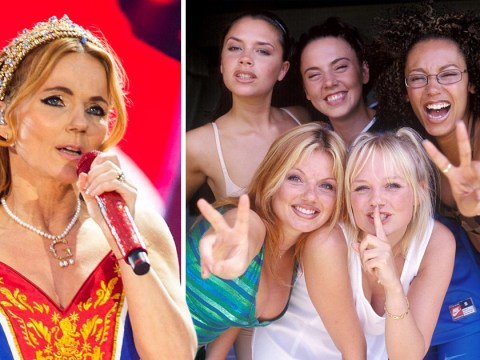 Geri Horner 'almost booted out of Spice Girls' by original manager for being 'tone-deaf' claims new book
