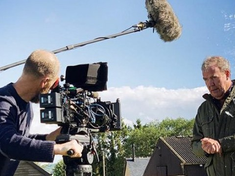 Jeremy Clarkson 'back in the saddle' and in front of a camera as filming begins on The Grand Tour season 4