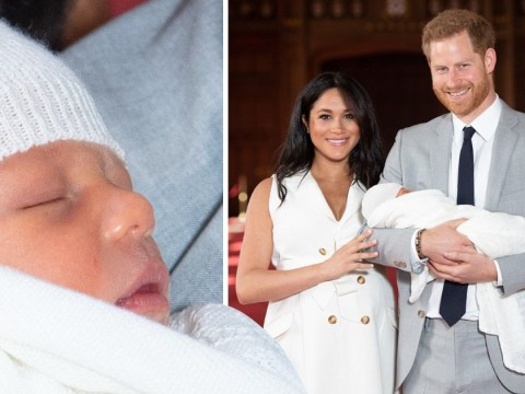 Meghan and Harry 'plan traditional christening for baby Archie'