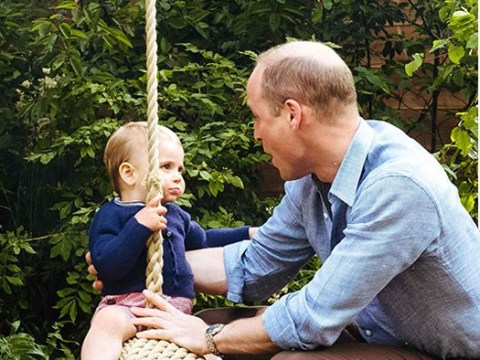 Prince William shares cute picture of Louis on Father's Day – but where are Charlotte and George?