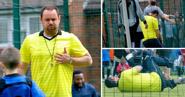 EastEnders Mick Carter has a heart attack
