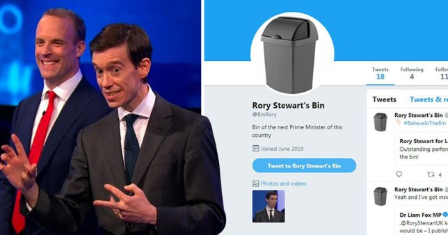 Rory Stewart has been coming up with some unlikely metaphors to compare Brexit to