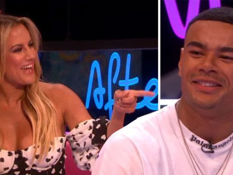 Caroline Flack and Wes Nelson awkwardly address those cosy Ibiza party photos on Love Island: Aftersun