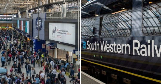 Members of the Rail, Maritime and Transport union on South Western Railway will walk out from Tuesday (Picture: Getty Images Europe)