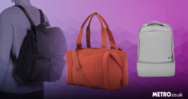 Our favourite smart gym bags