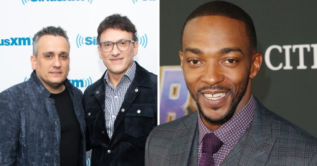 The Russo Brothers give Anthony Mackie perfect gift
