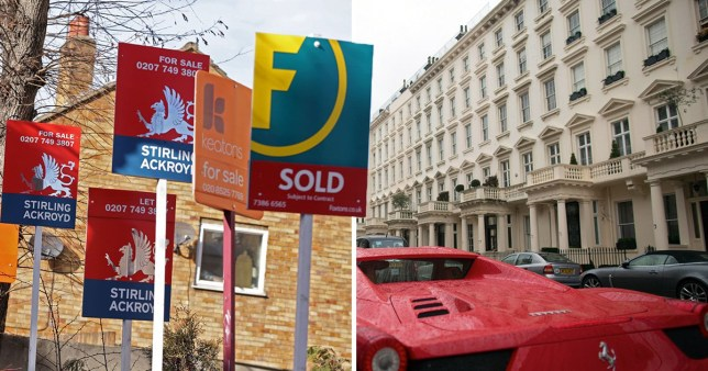 What £1million will get you in London compared to Leeds
