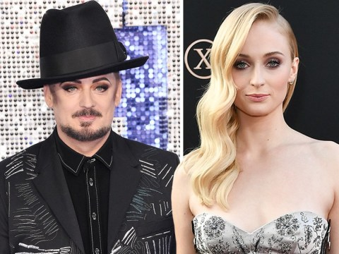 Sophie Turner 'so down' to play Boy George in biopic after Piers Morgan rubbishes idea